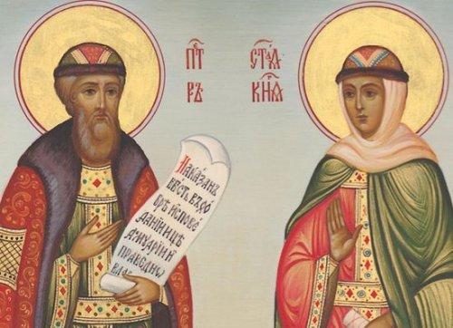 Святые чудотворцы, благоверные и преподобные супруги ПЕТР и ФЕВРОНИЯ Муромские
