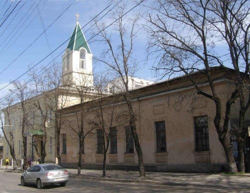 Свято-Никольский храм в городе Симферополе