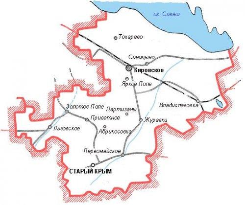 Административно-территориальное устройство Кировского района