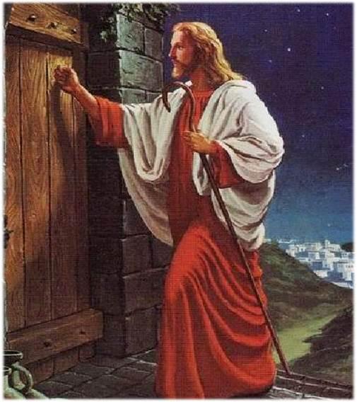 Иисус стучится в дверь
