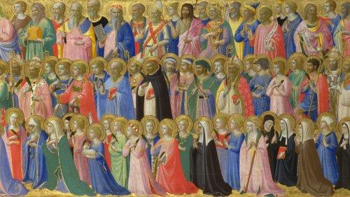 Когда призываем святых на молитве, то уже приближаем их к своему сердцу