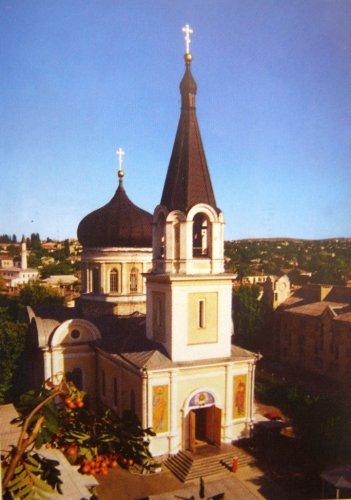 Петро-Павловский кафедральный собор в городе Симферополе