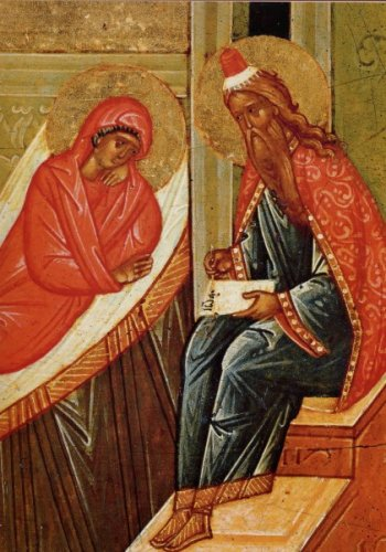 Пророк ЗАХАРИЯ и праведная ЕЛИСАВЕТА – родители Иоанна Предтечи