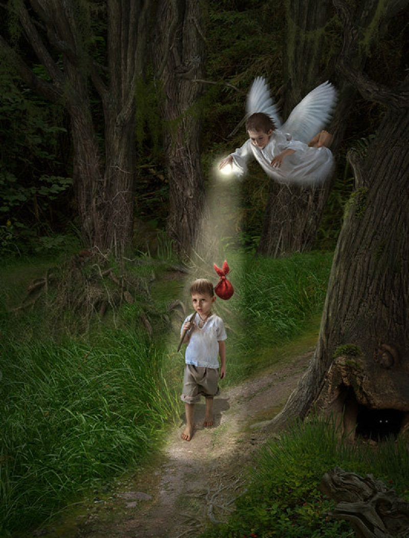 Открытки с ангелом хранителем в дорогу