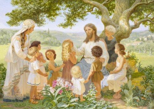 Как с детьми говорить о Боге?
