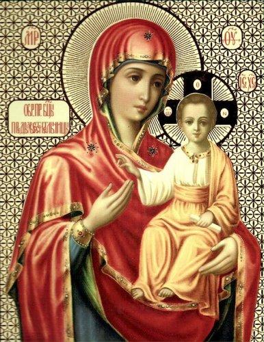 Икона Божией Матери АКАФИСТНАЯ ЗОГРАФСКАЯ (Предвозвестительница)