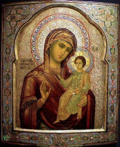 Икона Божией Матери «ОДИГИТРИЯ» СЕДМИЕЗЕРНАЯ