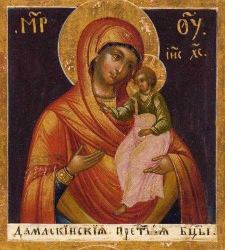 Икона Божией Матери ДАМАСКИНСКАЯ