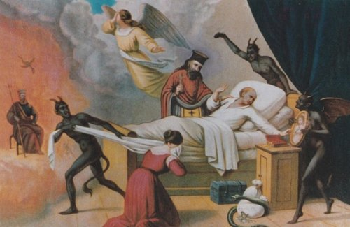 О четырех, бывающих в час смерти, искушениях вражеских