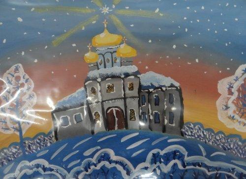 Учащиеся школы в селе Донское Симферопольского района приняли участие в епархиальном конкурсе детского творчества «Красота божьего мира»