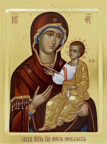 Икона Божией Матери ИВЕРСКАЯ МОНРЕАЛЬСКАЯ, МИРОТОЧИВАЯ