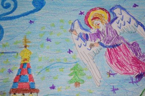 Учащиеся воскресной школы приняли участие в епархиальном конкурсе «От Святителя Николая – к Крещению Господню»