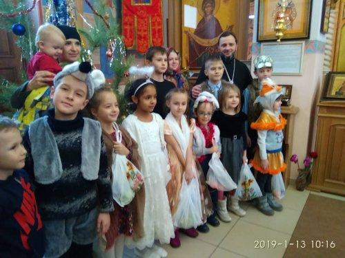 Рождественский утренник в храме Святителя Луки и Сретения Господня г. Симферополя