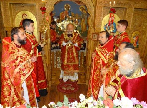 Престольный праздник храма в честь святых равноапостольных Константина и Елены в Симферополе