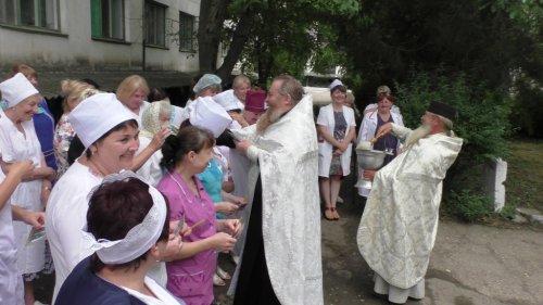 В Гвардейской районной больнице №1 совершен благодарственный молебен святителю Луке Крымскому