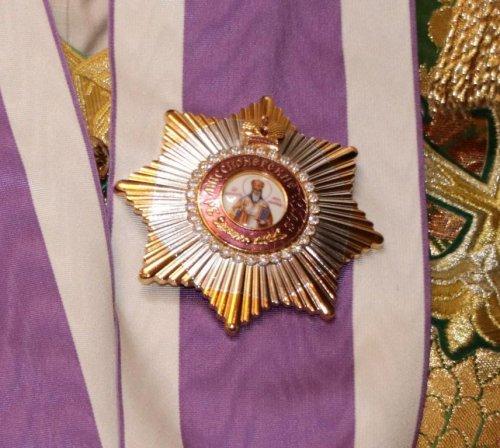 Митрополит Симферопольский и Крымский Лазарь награжден орденом святителя Иннокентия