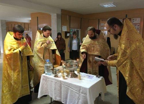 Священников Второго Симферопольского церковного округа поблагодарили за работу по духовному окормлению учебного заведения