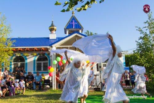 День семьи, любви и верности прошел в храме Державной иконы Божией Матери в Симферополе