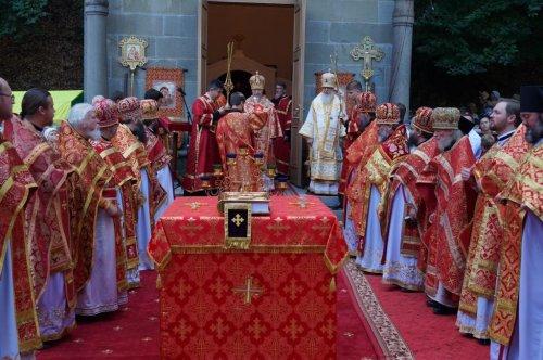 Престольный праздник в мужском монастыре Святых бессребреников Космы и Дамиана