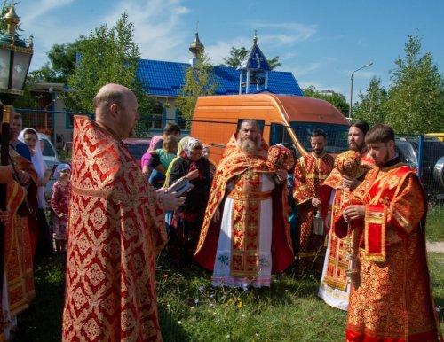 Божественная литургия в день памяти святых Царственных Страстотерпцев в храме Державной иконы Божией Матери
