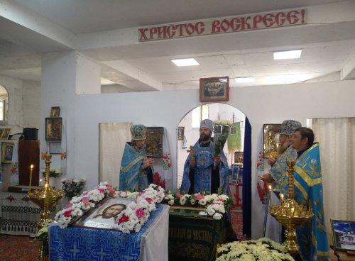 Протоиерей Иоанн Шимон поздравил протоиерея Вадима Маринского с юбилеем хиротонии