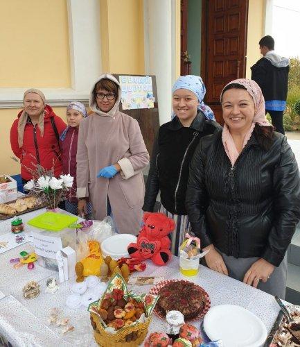 Благотворительная акция «Белый цветок» прошла в храме Воскресения Христова в селе Мирное Симферопольского района