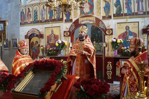 В храме святого великомученика Димитрия Солунского в Симферополе прошли престольные торжества