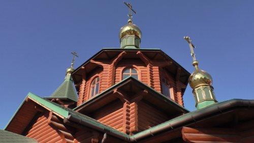 Храм преподобного Амвросия Оптинского в селе Белоглинка Симферопольского района