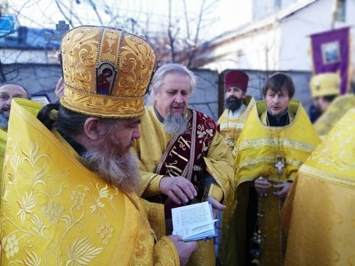 Престольный праздник в храме Всех Крымских святых в поселке Гвардейское Симферопольского района