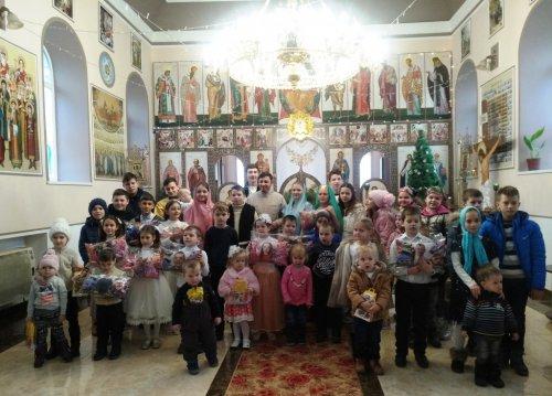 Праздничная Рождественская служба в селе Урожайное