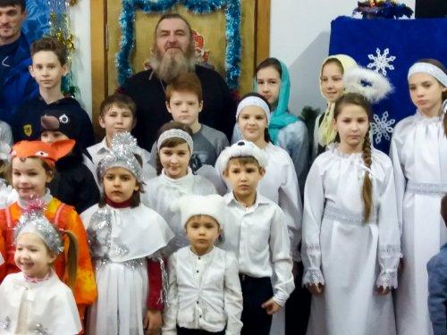 Рождественский утренник воскресной школы в поселке Гвардейское Симферопольского района