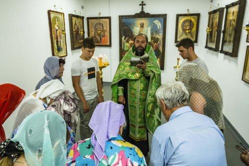 Благочинный Второго Симферопольского благочиния протоиерей Иоанн Шимон совершил молебен о путешествующих