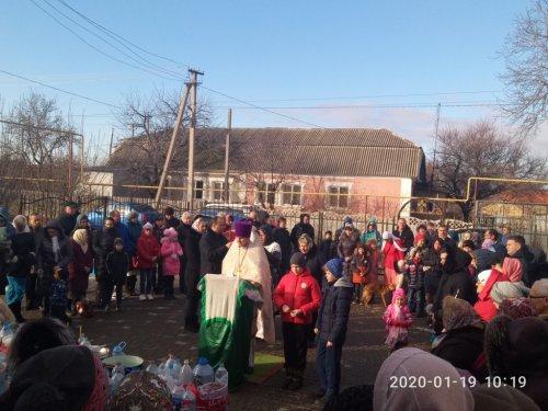 Праздник Крещения Господня в селе Укромное