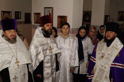 Духовенство II Симферопольского благочиния приняло участие в архиерейском богослужении накануне дня памяти святой великомученицы Татианы
