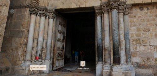 Виртуальная экскурсия в Храме Гроба Господня в Иерусалиме