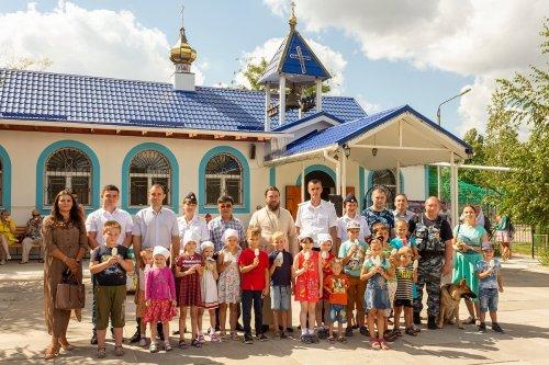На территории храма Державной иконы Божией Матери в Симферополе проведена акция «Каникулы с общественным советом»