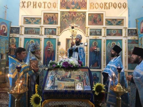 Престольный праздник храма в честь Бахчисарайской иконы Божией Матери в селе Первомайское Симферопольского района