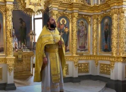 Проповедь благочинного Второго Симферопольского благочиния протоиерея Иоанна Шимона