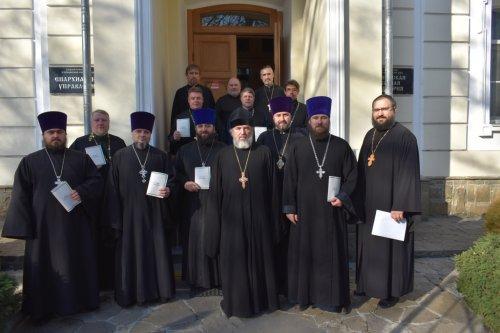 Представители II Симферопольского церковного округа прошли обучение по повышению квалификации священнослужителей