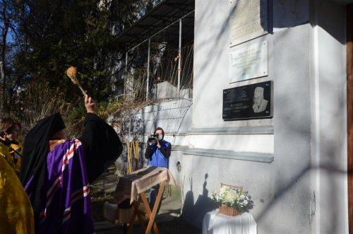 Открытие мемориальной доски в память о святителя Луке Крымском на корпусе больницы им. Н.А. Семашко