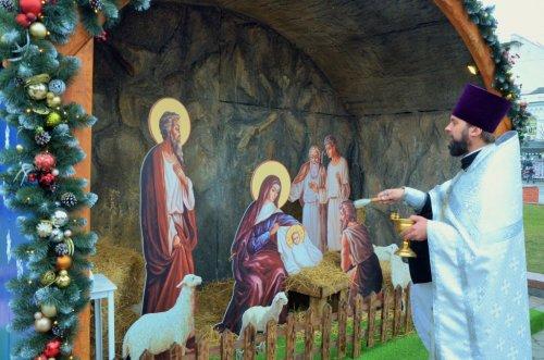 Открытие рождественского вертепа на главной площади Симферополя