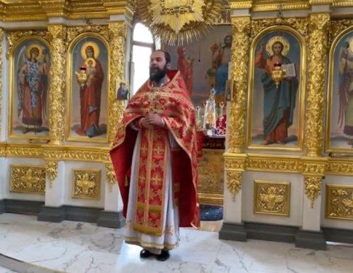 Проповедь благочинного Второго Симферопольского благочиния протоиерея Иоанна Шимона в Неделю 2-ю по Пасхе
